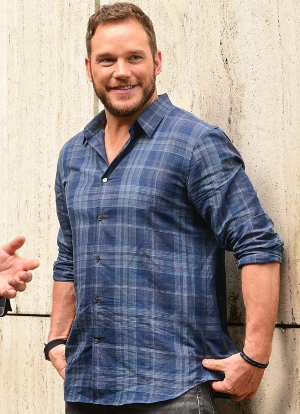 Chris Pratt spends time with his Brazilian fans while promoting 'Avengers: Infinity War'