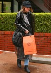 Newly engaged Katherine Schwarzenegger shops at Hermes after lunch in Brentwood