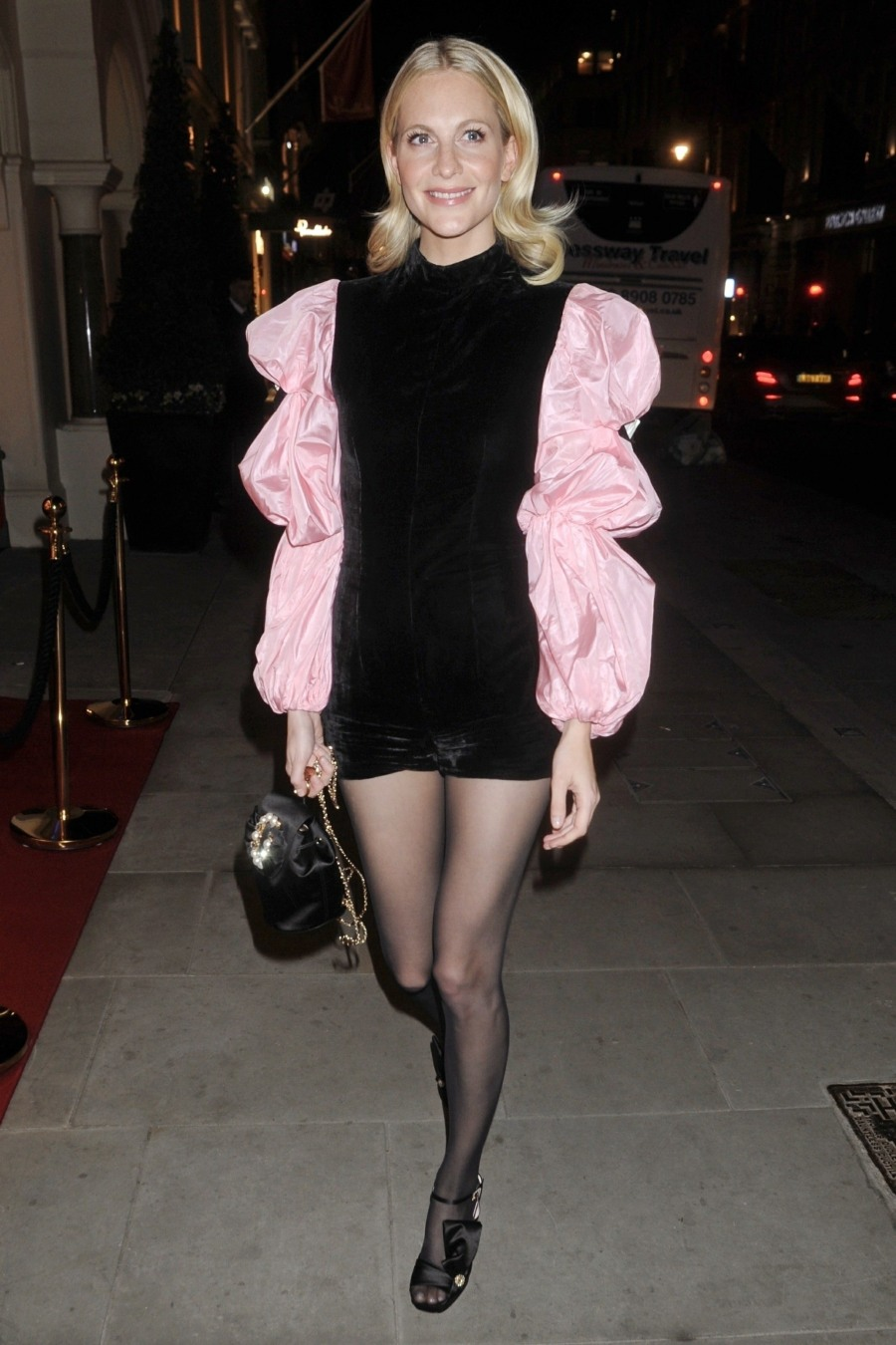 Poppy Delevingne attends the Roger Vivier New Store Opening Party in London