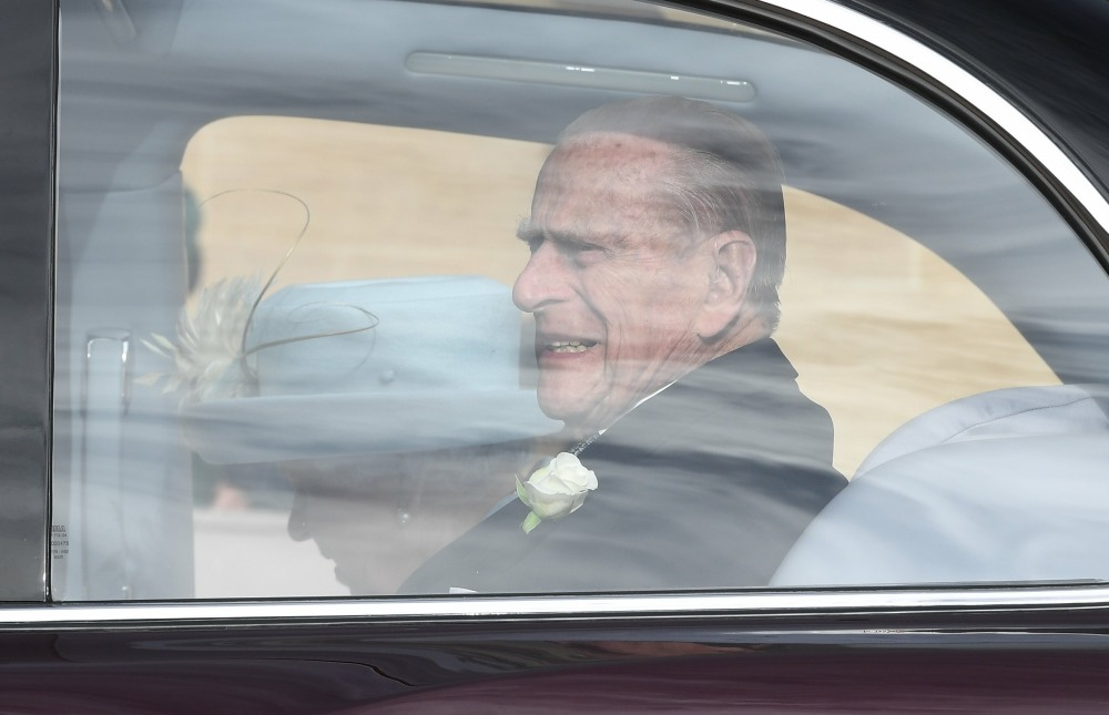 Cele Bitchy Prince Philip 97 Wrecked His Land Rover