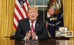 Il Presidente Trump si rivolge alla Nazione sulla sicurezza delle frontiere dall'ufficio ovale