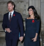 The Royal Family attends a Service to commemorate the Armistice on the centenary of the end of WWI
