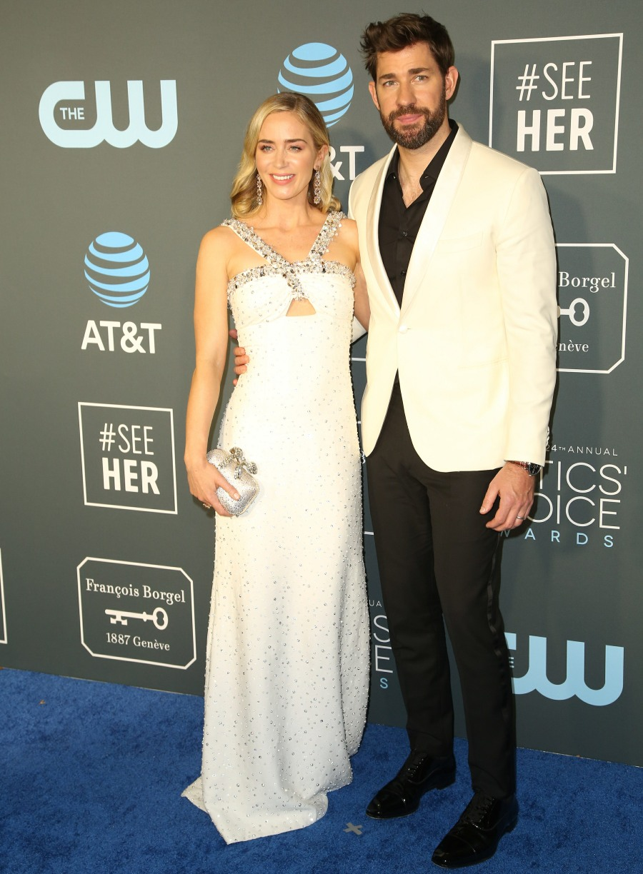 Emily Blunt in Prada at the Critics' Choice Awards: boring & safe?