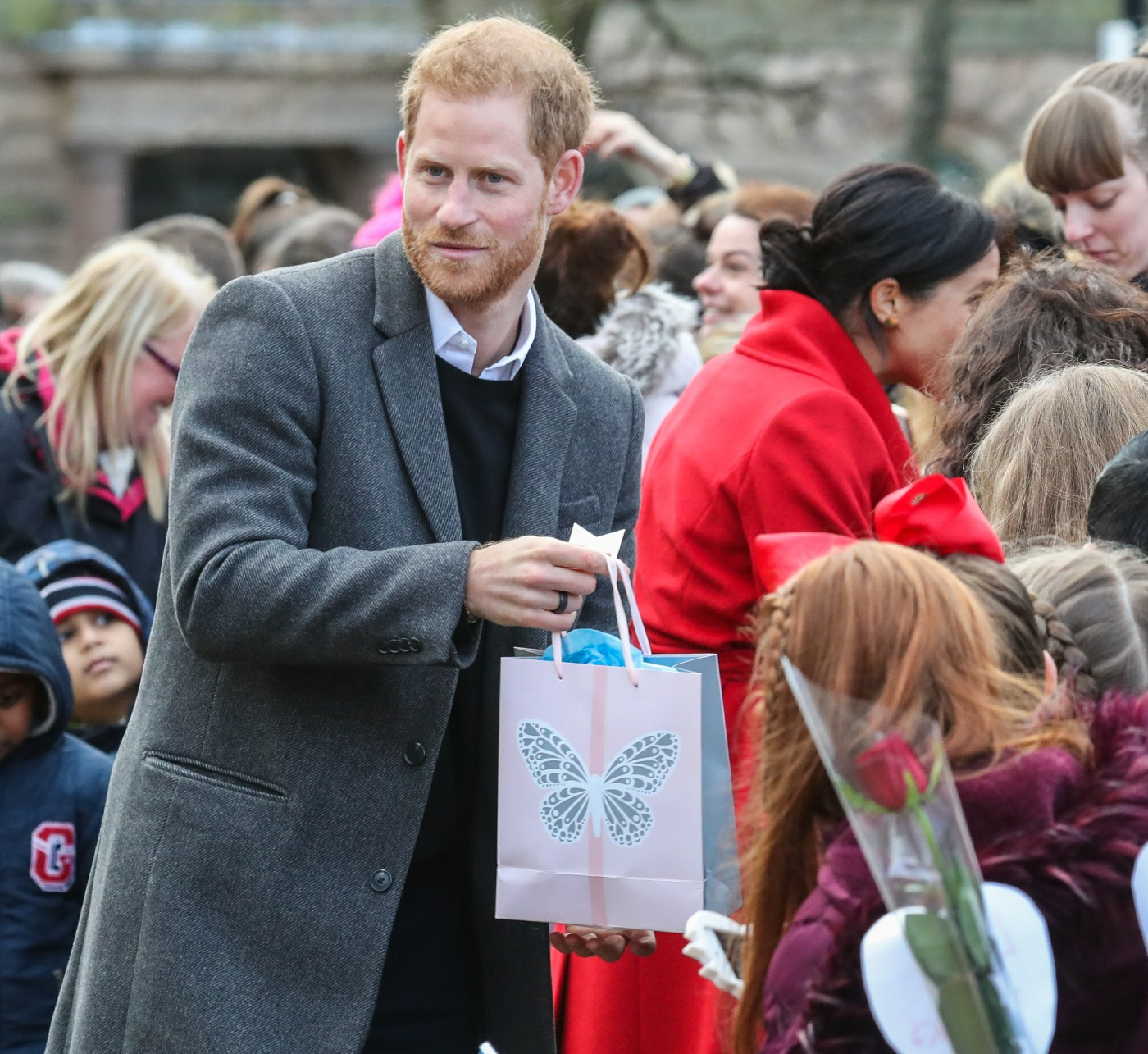 VF: Prince Harry Is An Early-rising, Juicing
