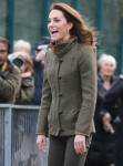 The Duchess of Cambridge visits the King Henry's Walk Garden