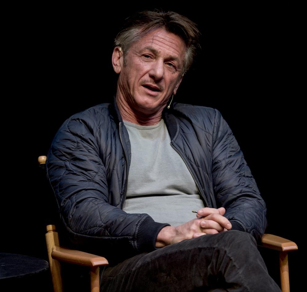 Sean Penn at Live Talks LA