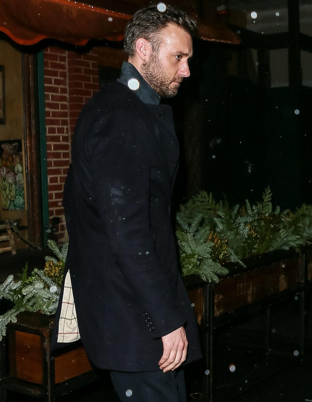 Jennifer Lawrence e fidanzato Cooke Maroney escono dal ristorante italiano il Buco