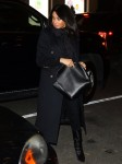 Meghan Markle arrives at The Polo Bar for dinner with a friend in NYC