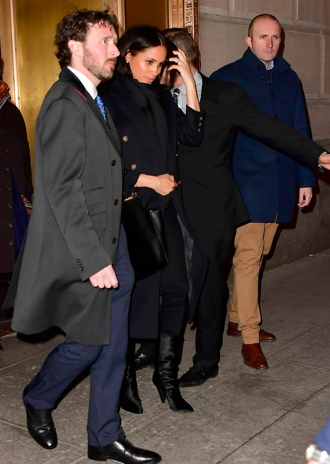 Meghan Markle seems tired after leaving The Polo Bar with Serena Williams