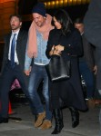 Meghan Markle and Markus Anderson arrive at The Polo Bar in NYC