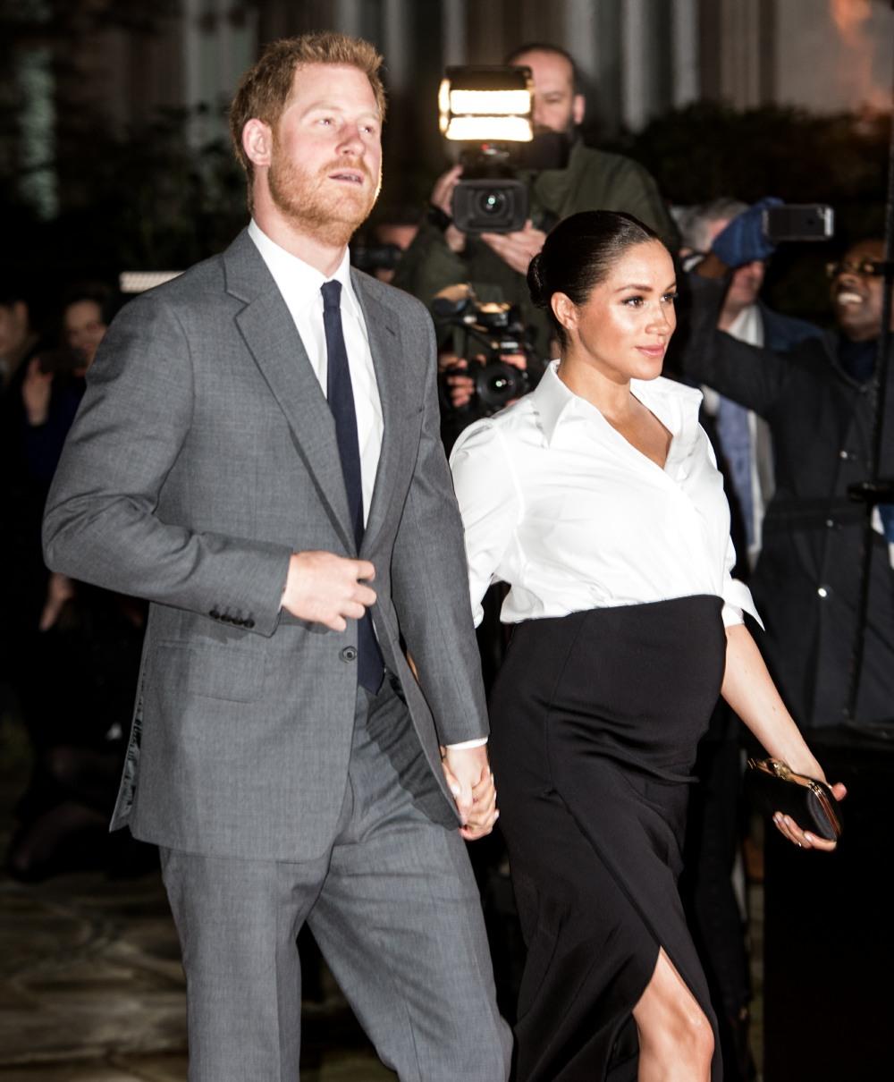 Il Duca e la Duchessa di Sussex arrivano agli Endeavour Fund Awards