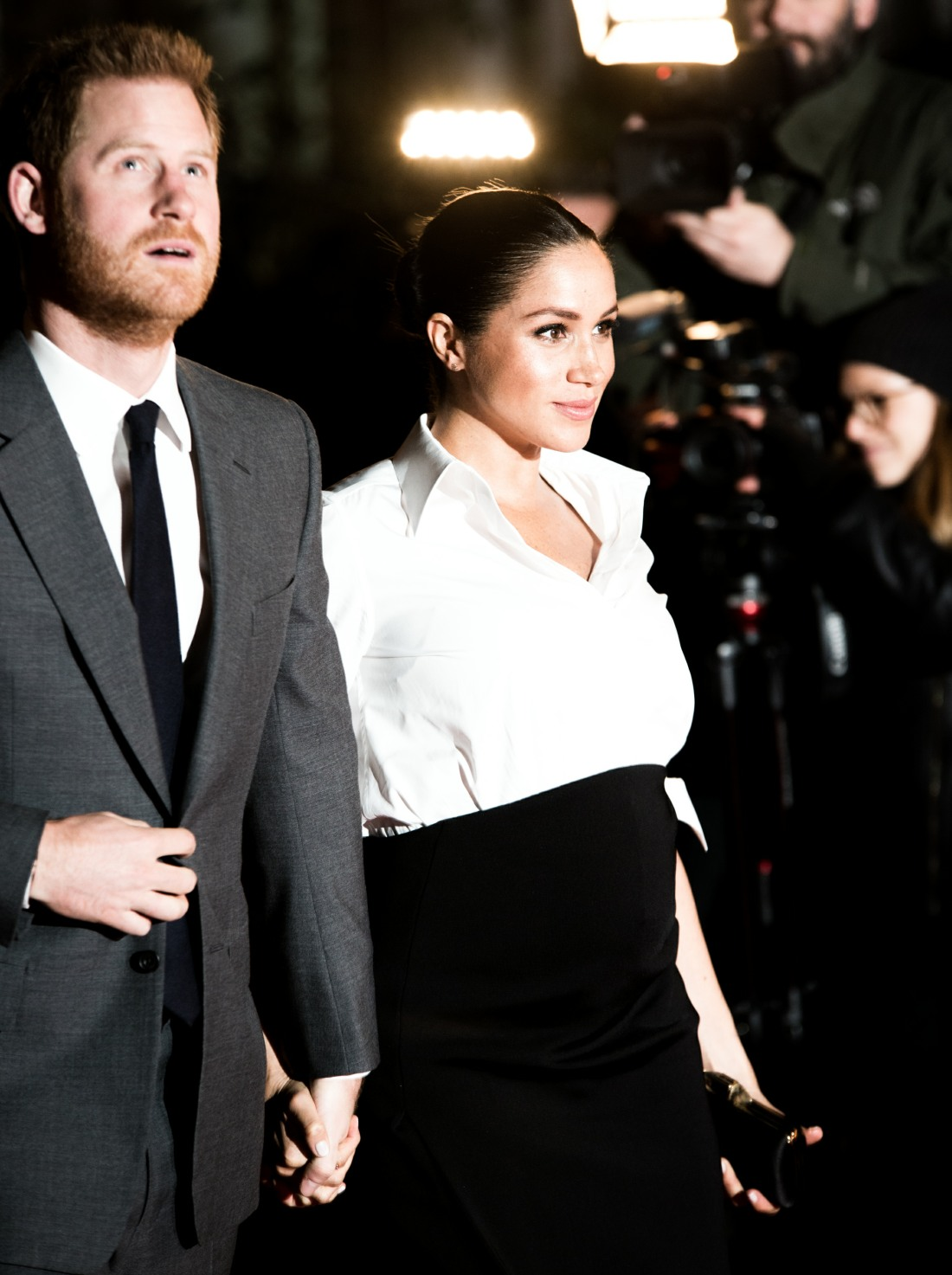 The Duke and Duchess of Sussex arrive at the Endeavour Fund Awards