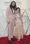 Jason Momoa, Lisa Bonet attends The 91st Annual Academy Awards Arrivals in Los Angeles
