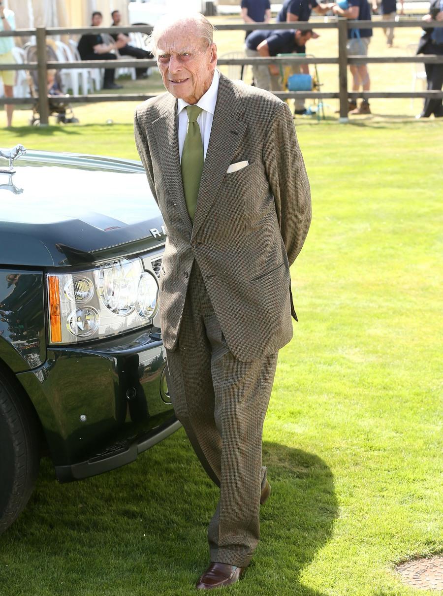 La regina e il principe Filippo, duca di Edimburgo, partecipano alla Royal Windsor Cup