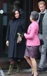 Il principe Harry e Meghan, duca e duchessa di Sussex a Bristol