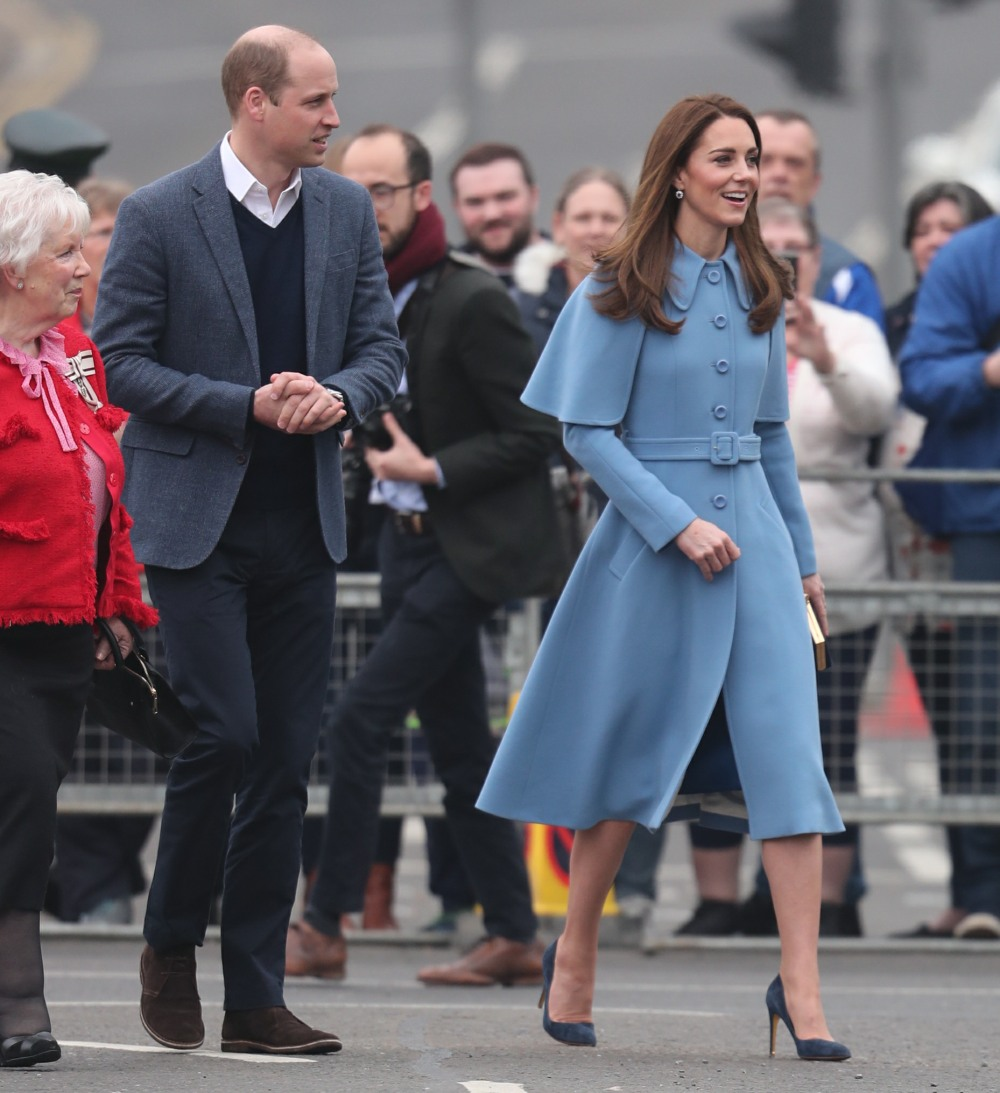 The Duke and Duchess of Cambridge visit the charity Cinemagic in Belfast