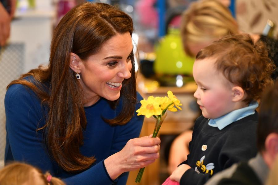 The Duke and Duchess of Cambridge visit SureStart in Ballymena