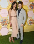 Newlyweds Priyanka Chopra and Nick Jonas at Bumble launch party