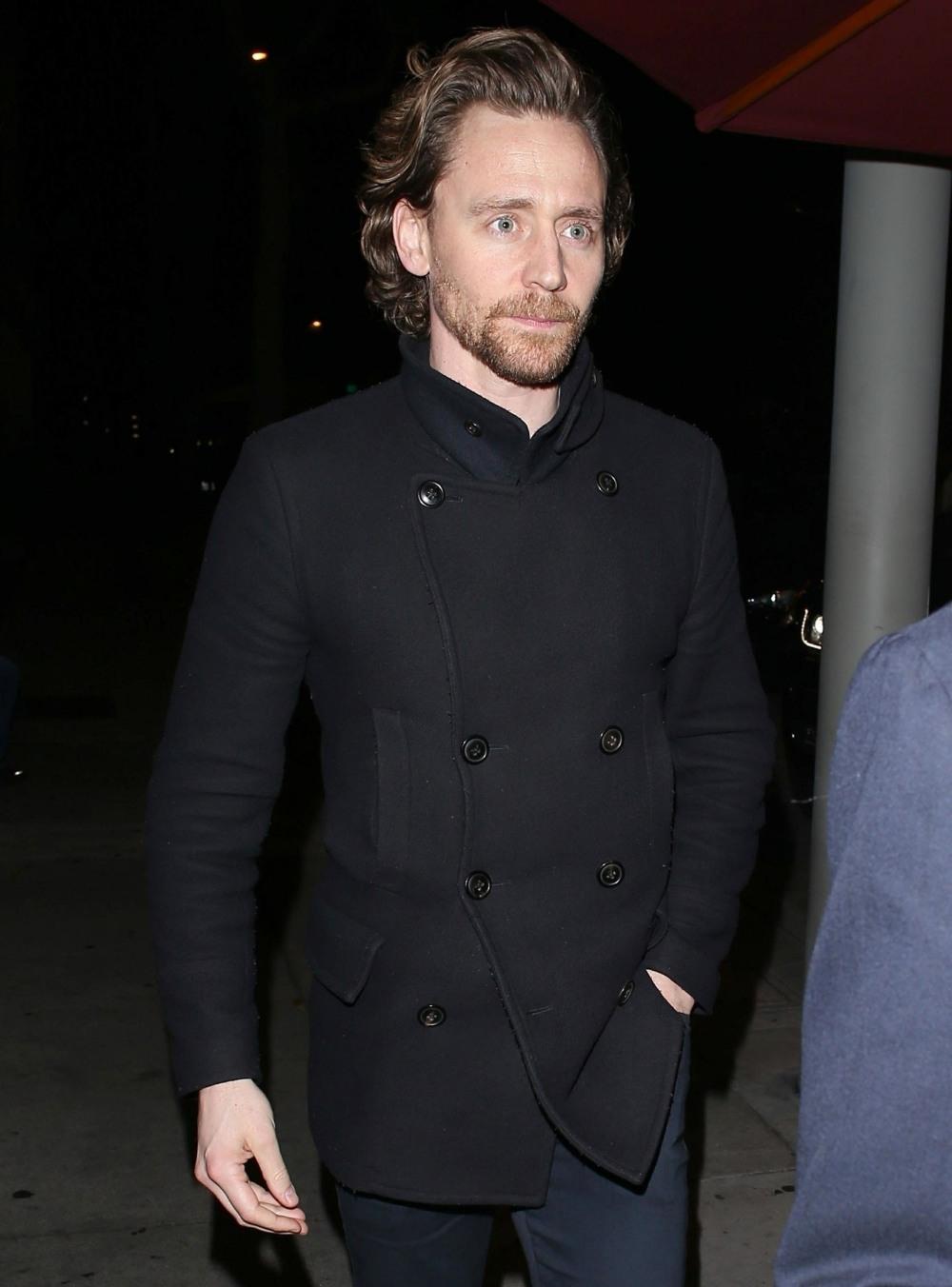 Tom Hiddleston grabs dinner at Craig's