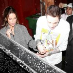Pete Davidson and Kate Beckinsale show off their new romance while exiting Largo at the Coronet