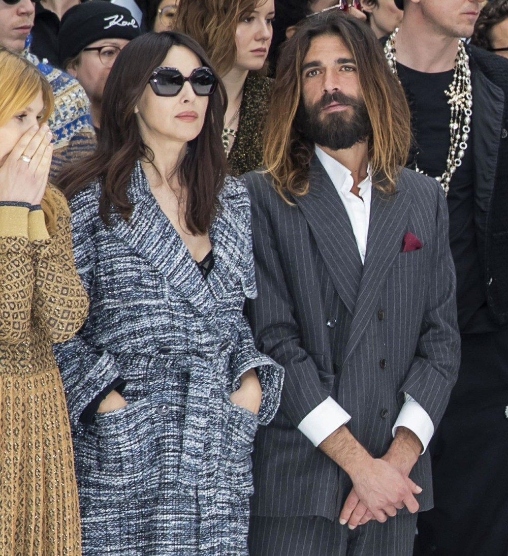 Celebs are seen at the Chanel Fashion Show