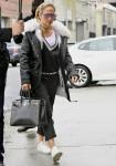 Jennifer Lopez visits a studio in Long Island