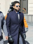 Jussie Smollett leaves court after all charges are dropped against him