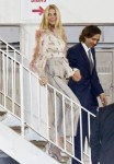 Gwyneth Paltrow and husband Brad Falchuk look stunning as they head to an event in Hollywood