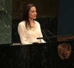 Angeline Jolie at The United Nations