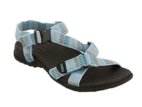 Comfortable adjustable sandals