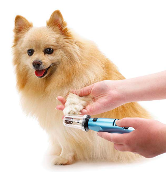 Dog nail trimmer that people can use
