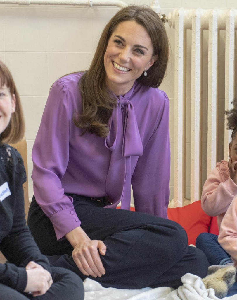 The Duchess of Cambridge visited the Henry Fawcett Children's Centre  and learned more about the work being done by local organisations in Lambeth and their partners to support young children and their families