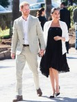 The Duke and Duchess of Sussex visit the Andalusian Gardens