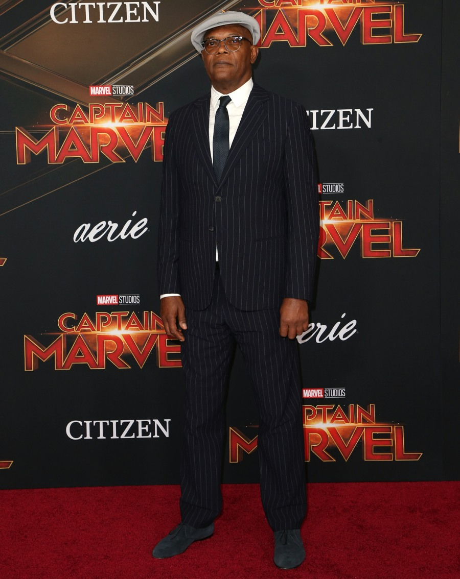 "The world premiere of Marvel Studios' ""Captain Marvel,"""