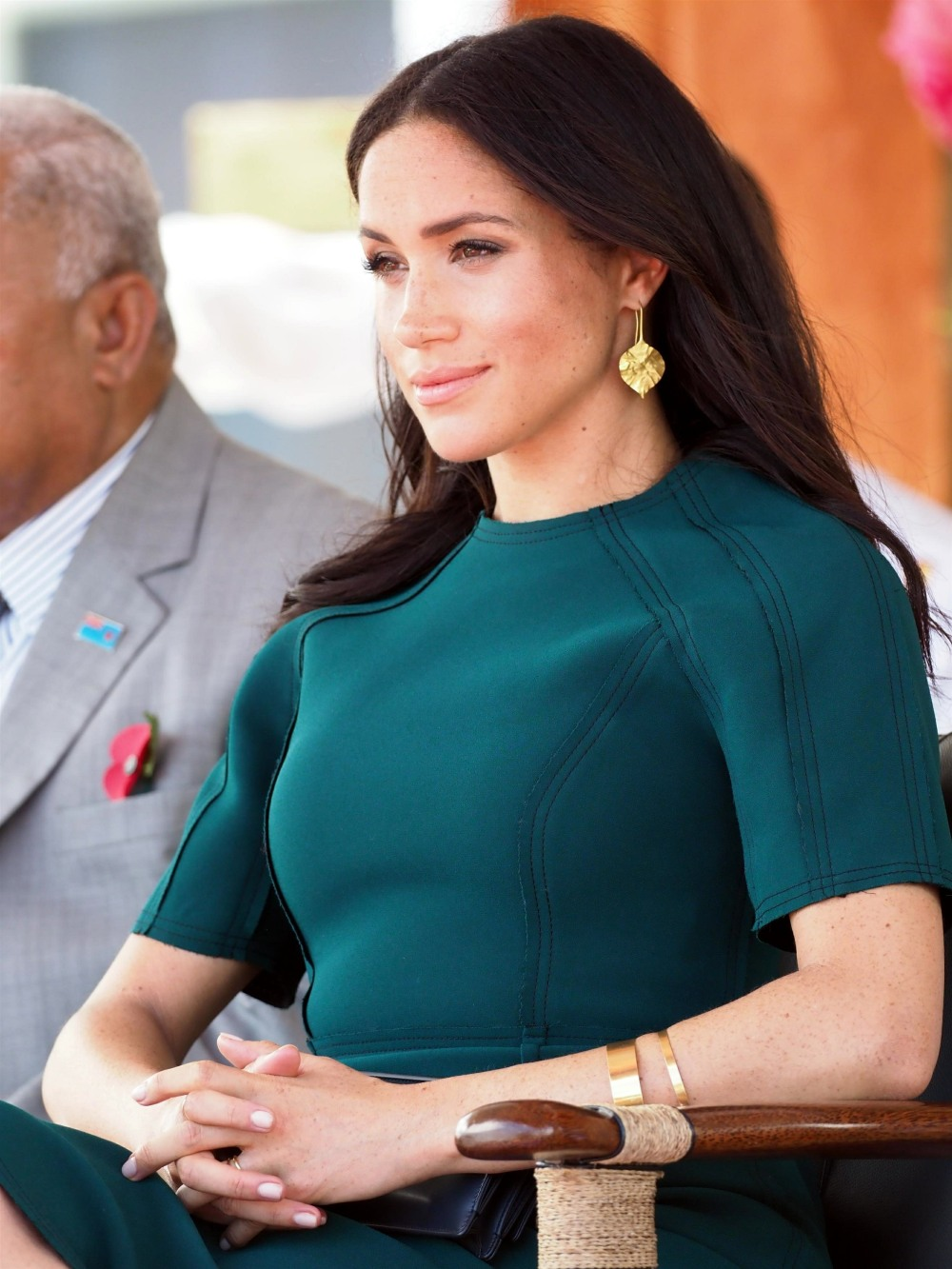 The Duke of Sussex and Duchess of Sussex attend a traditional Fijian ceremony