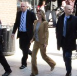 Lori Loughlin arrives at court to face charges in college admissions scam