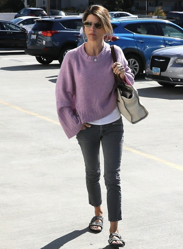 Lori Loughlin is seen out amidst the college bribery scandal