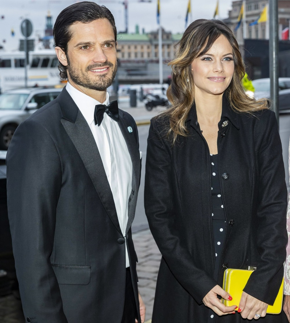Prince Carl Philip and Princess Sofia attend Sweden-America Foundation 100 years jubilee