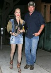 Gwen Stefani and Blake Shelton out for dinner at Craig's