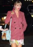 Taylor Swift returns home from Gigi Hadid's birthday in New York