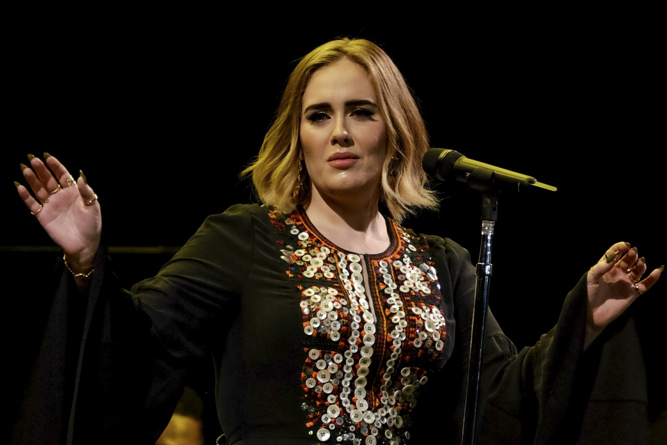 Adele at Glastonbury Festival, Pilton, UK