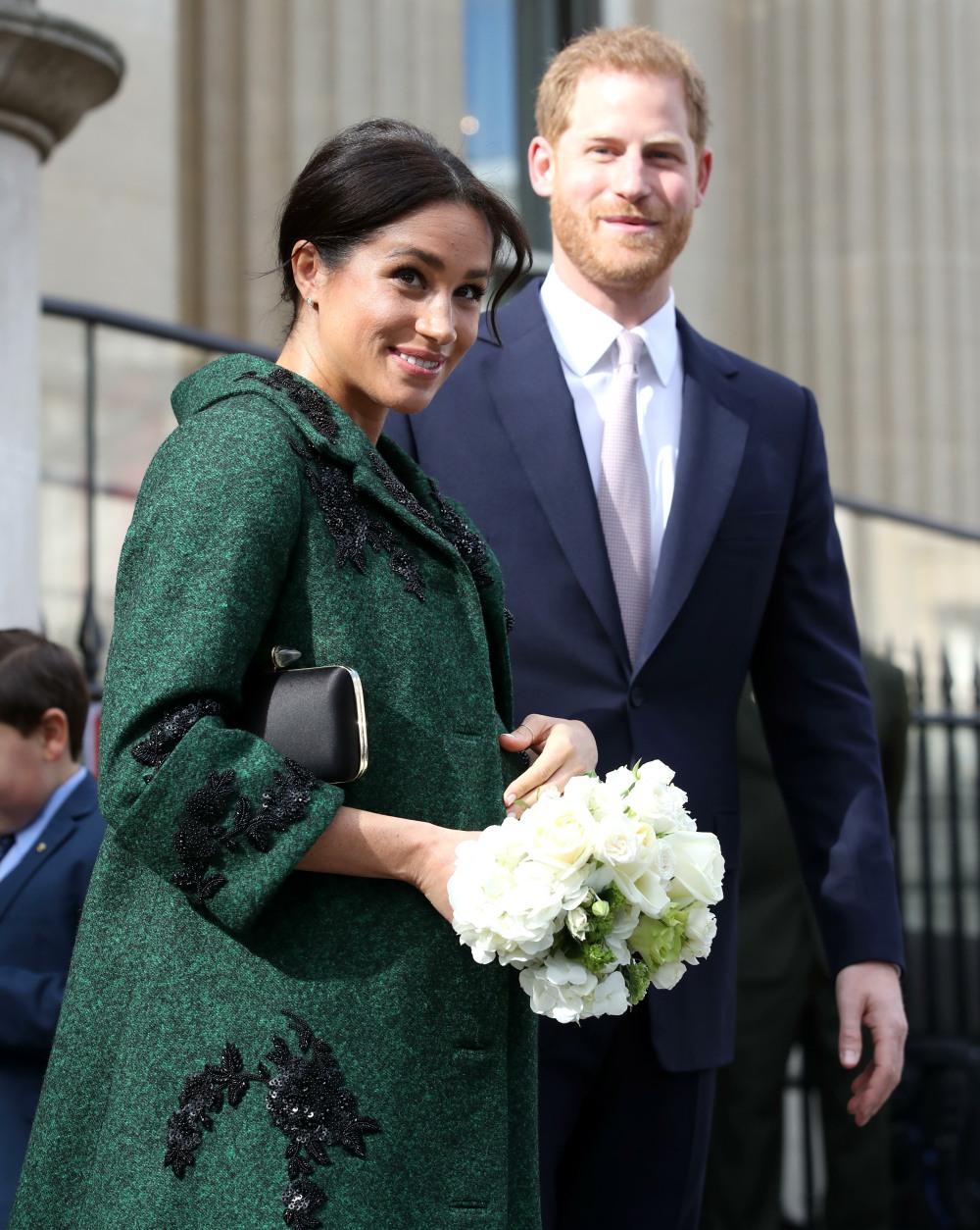 Il duca e la duchessa del Sussex partecipano a un evento giovanile del Commonwealth Day presso la Canada House