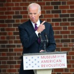 Joe Biden At The Grand Opening Of The Museum Of The American Revolution