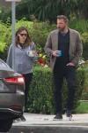 Jennifer Garner e Ben Affleck durante le loro mansioni mattutine in L.A.