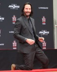 Keanu Reeves hand and footprint ceremony at TCL Theatre in Hollywood