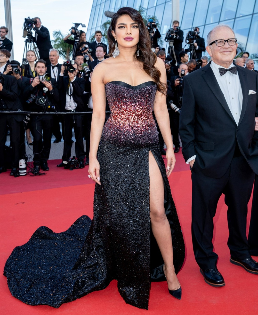 "Bella Hadid and other celebs at red carpet premiere for the movie ""Rocketman"" during the 72nd Cannes International Film festival."