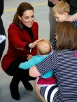 Britain's Prince William and Catherine, Duchess of Cambridge, visit North Wales