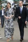 Il Duca e la Duchessa di Cambridge al Chelsea Flower Show