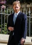 Il principe Harry, il duca di Sussex arriva domenica 21 aprile 2019 al servizio di chiesa della domenica di Pasqua nella cappella di San Giorgio nel castello di Windsor