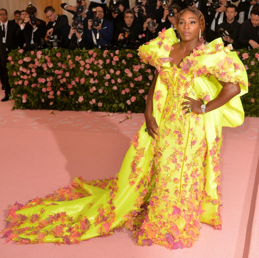 Serena Williams agli arrivi per il campo: No ...